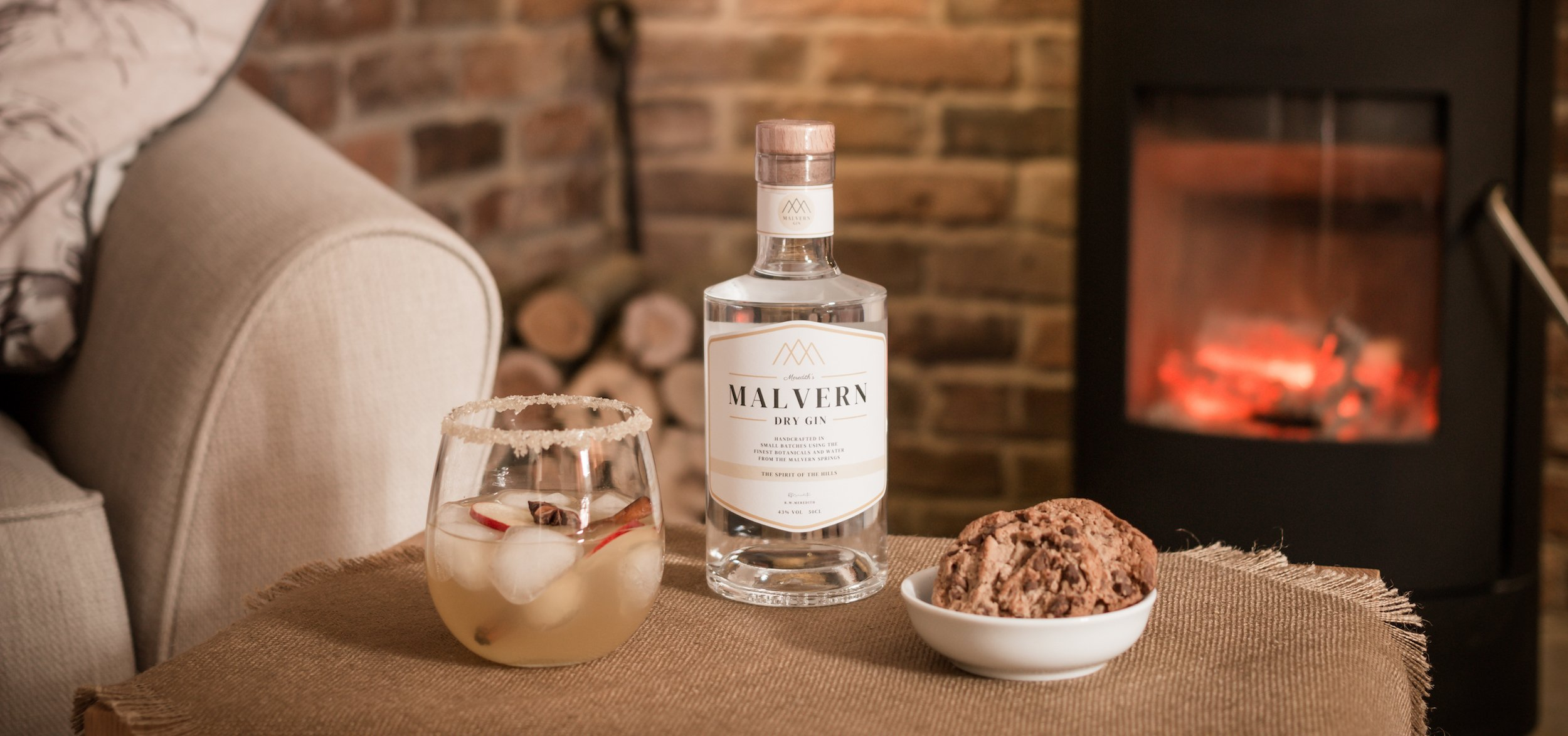 Malvern Dry Gin Spiced Gin Cocktail Panoramic